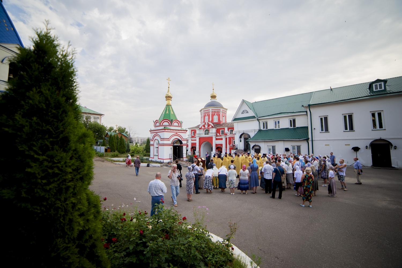 В Кизическом монастыре прошли торжества в честь 1030-летия Крещения Руси