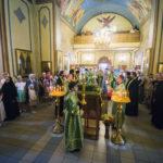 Настоятель Кизического монастыря игумен Пимен сослужил митрополиту Феофану в Сергиевском храме Казани