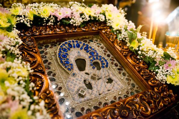 9 июля празднование  иконы Божией Матери Седмиезерная