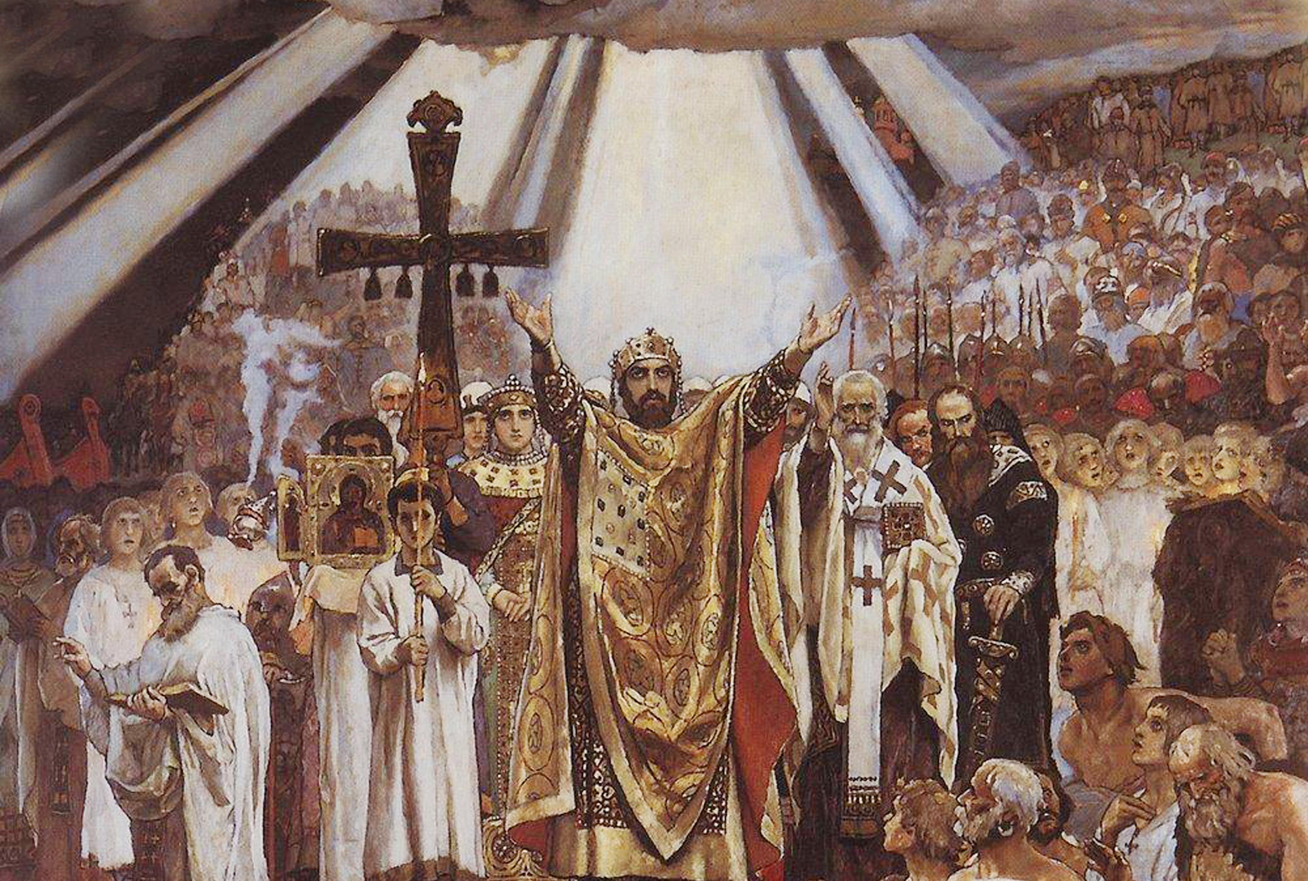 В 2018 году Русская Православная Церковь отмечает 1030-летие Крещения Руси