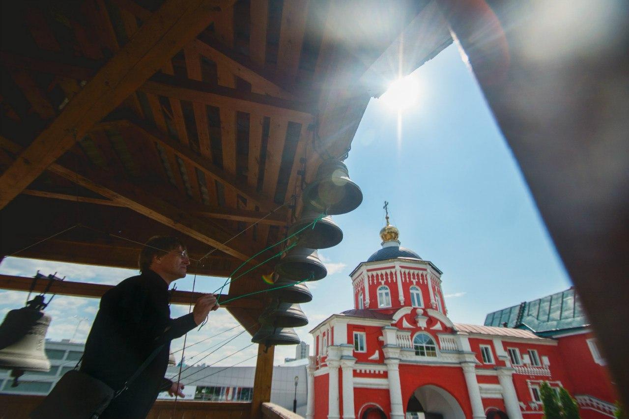 Кизическом монастыре прозвучал колокольный звон в рамках акции «Слава Тебе, Боже»
