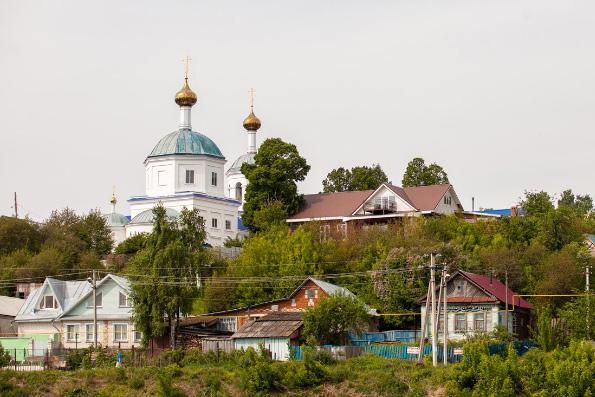 Настоятель монастыря принял участие в пристольных торжествах Николо-Ильинской церкови с. Верхний Услон