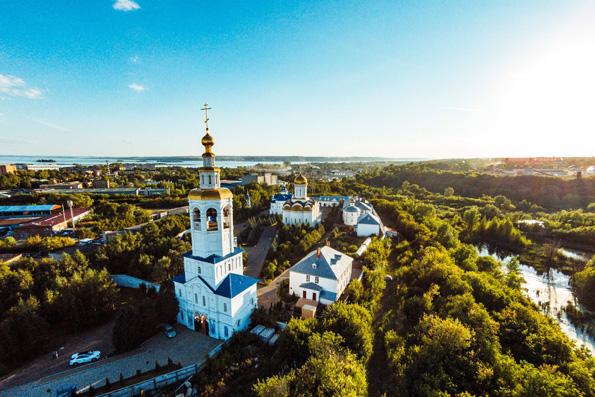 10 сентября - память преподобномучеников Казанского Успенского Зилантова монастыря