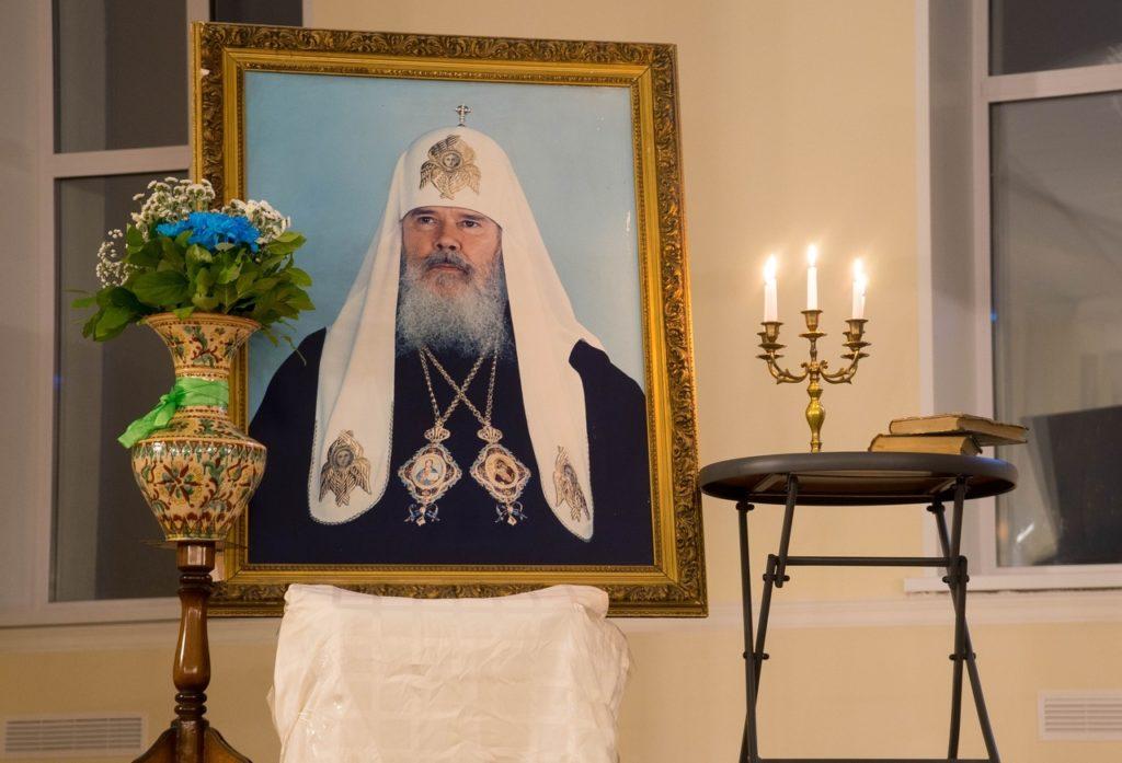 Настоятель монастыря принял участие в вечере памяти Святейшего Патриарха Алексия II
