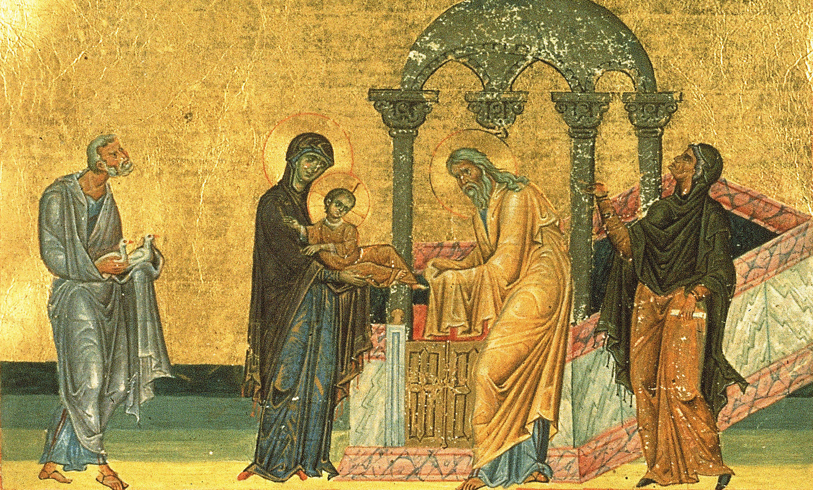 15 февраля - Сретение Господа Нашего Иисуса Христа