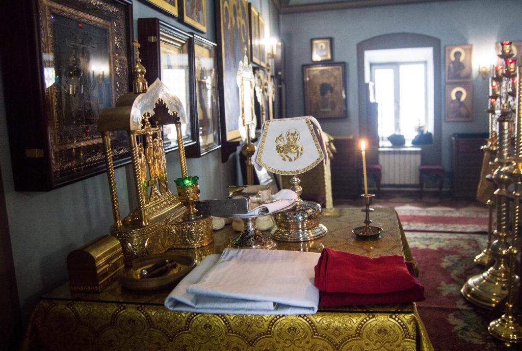 В Кизическом монастыре была совершена соборная братская Литургия